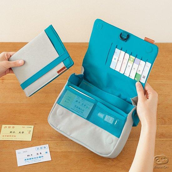 診察券・保険証・おくすり手帳から、体温計・いつものお薬など、ご家庭の「医療関係」の管理、持ち出しを考え直しました。
