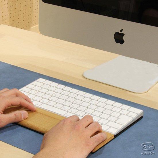 Apple純正キーボード「Magic Keyboard」を快適に、キータッチを最適化する。そして木製パームレストで手首をラクにしてくれる専用トレイの最新バージョン。
