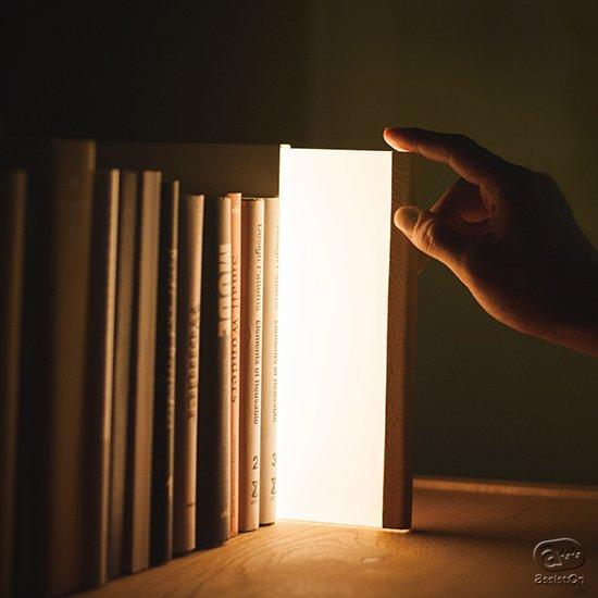 本のある空間を大切にする方のために。本を心から愛する方へ。業務用照明のエキスパートが本好きのために作った「1冊の照明」